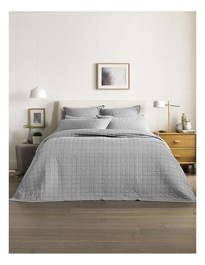 Reilly Bedcover in Fog image 4