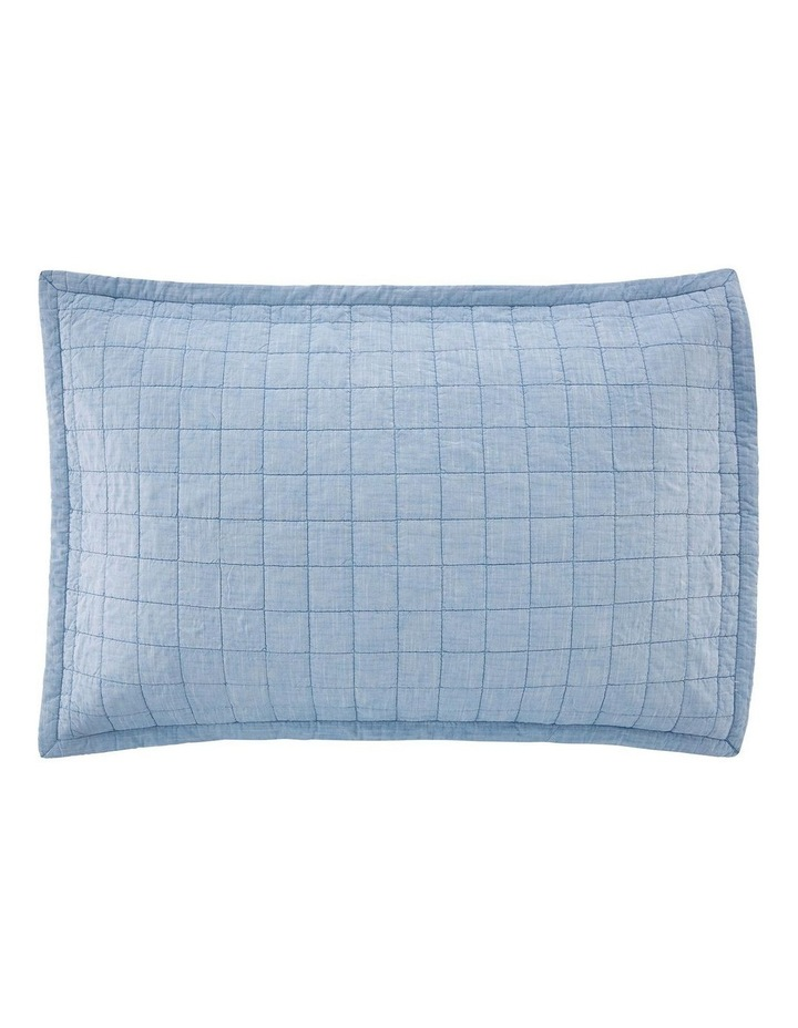 Reilly Sham in Chambray image 3