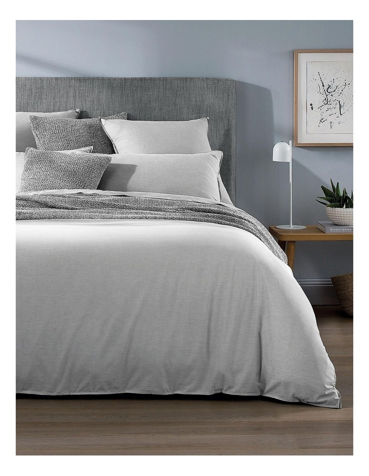 Reilly Bed Linen Range in Fog image 1