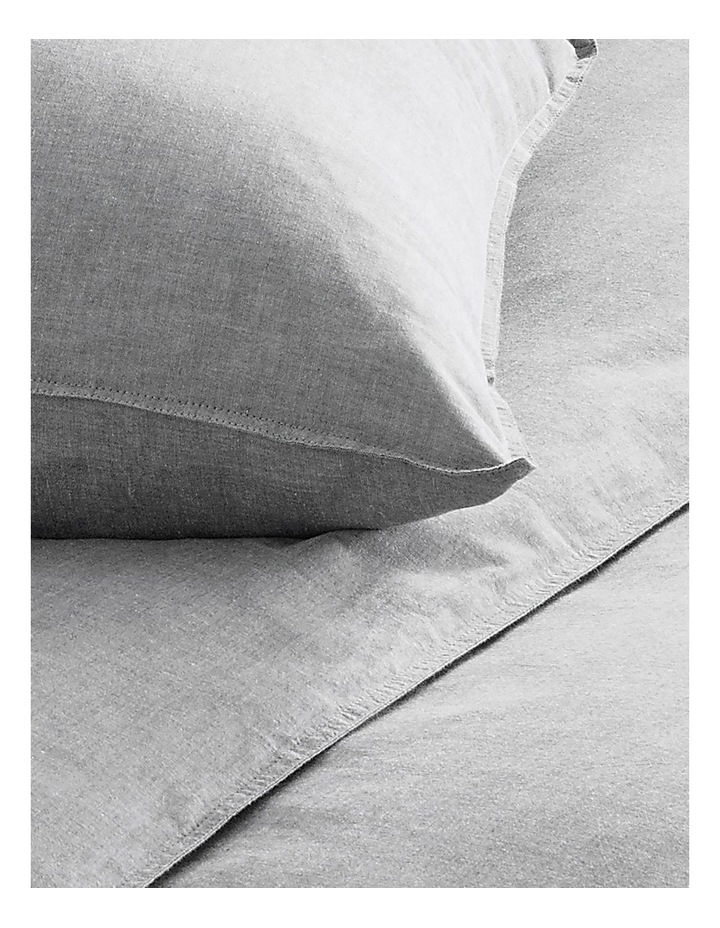 Reilly Bed Linen Range in Fog image 3