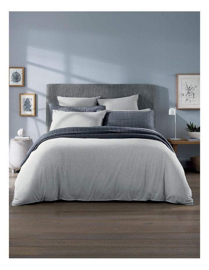 Reilly Bed Linen Range in Fog image 5
