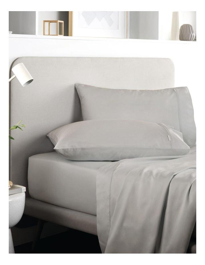 Tencel Lyocell Fibre & Cotton Sheet Set in Dove image 1