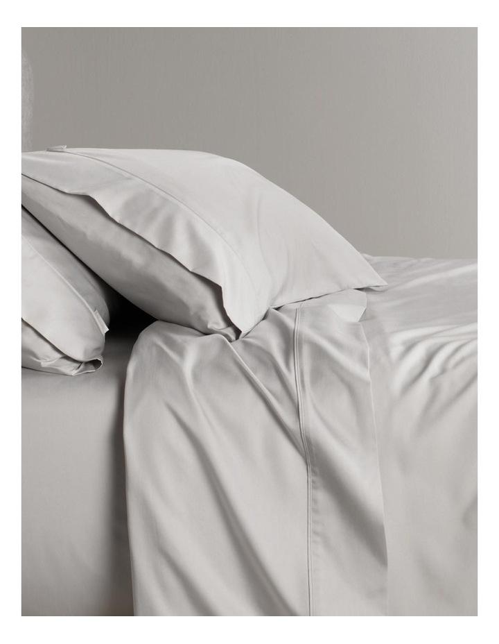 Tencel Lyocell Fibre & Cotton Sheet Set in Dove image 3