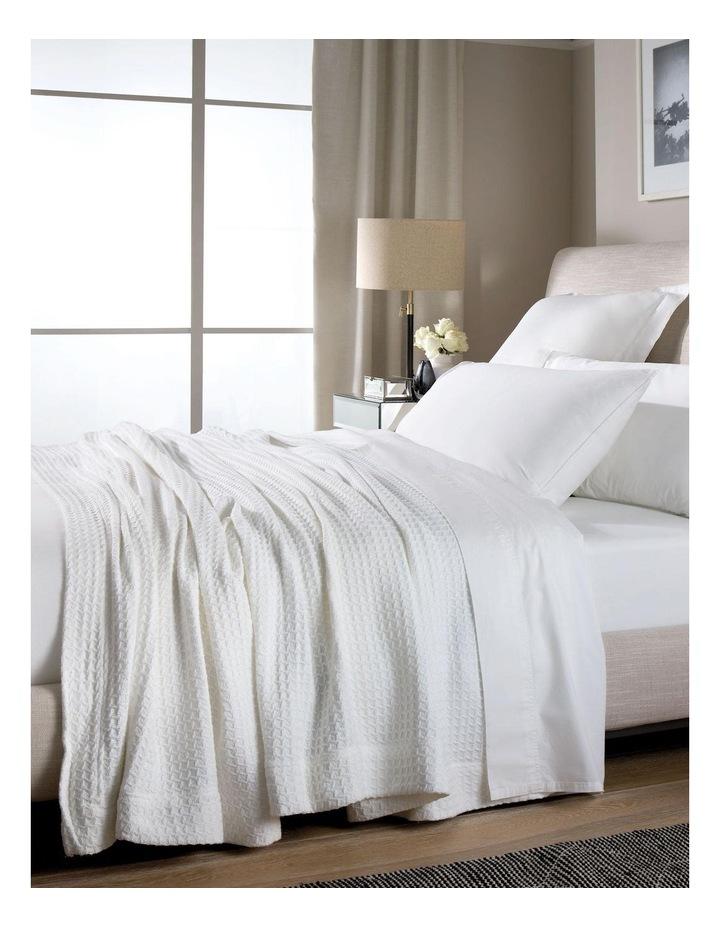 Ultrasoft Cotton Blanket in Snow image 2