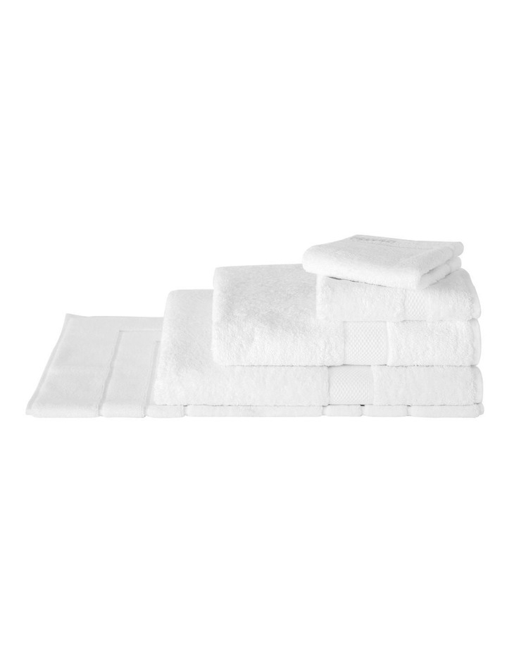 Luxury Egyptian Towel Gift Set in Snow image 1