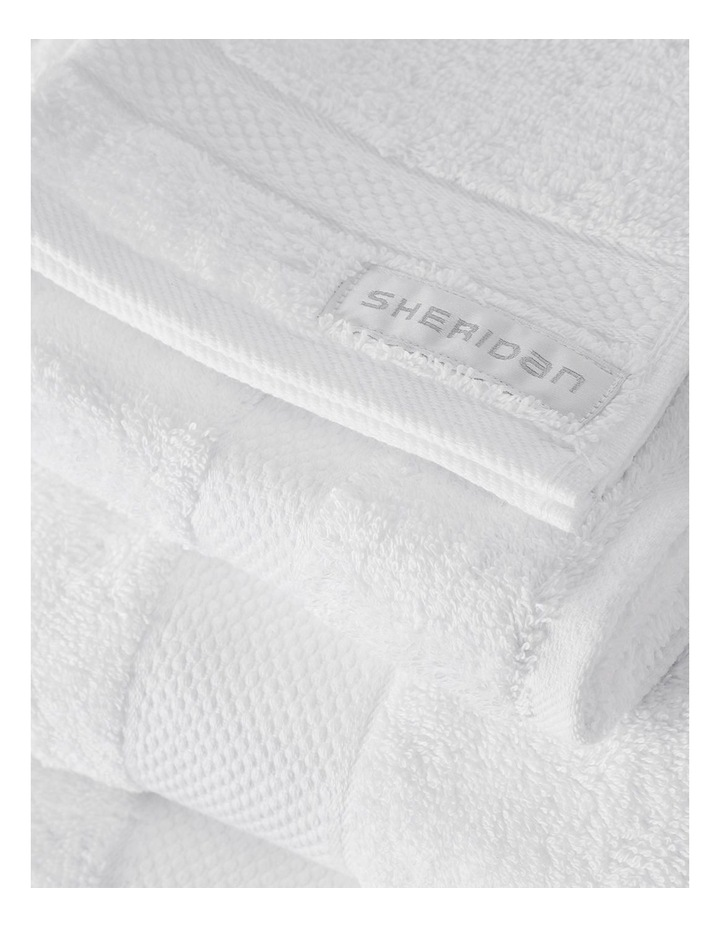 Luxury Egyptian Towel Gift Set in Snow image 3