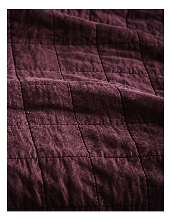 Abbotson Bedcover in Plum image 2