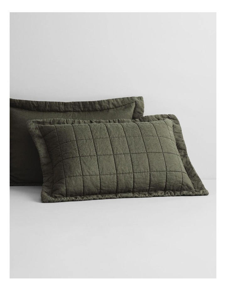 Abbotson Bed Cover in Olive image 3
