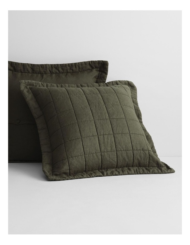 Abbotson Bed Cover in Olive image 4