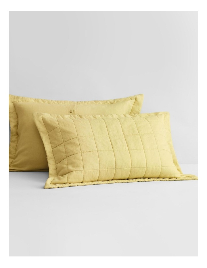 Abbotson Bed Cover in Chartreuse image 3