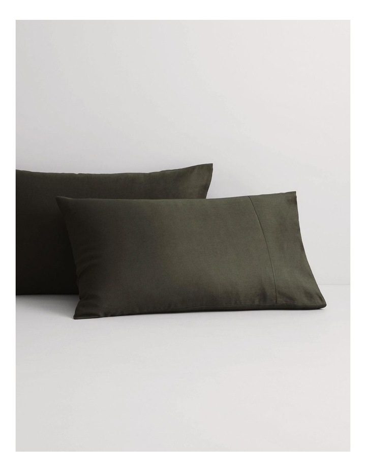 Abbotson Fitted Sheet in Olive image 3