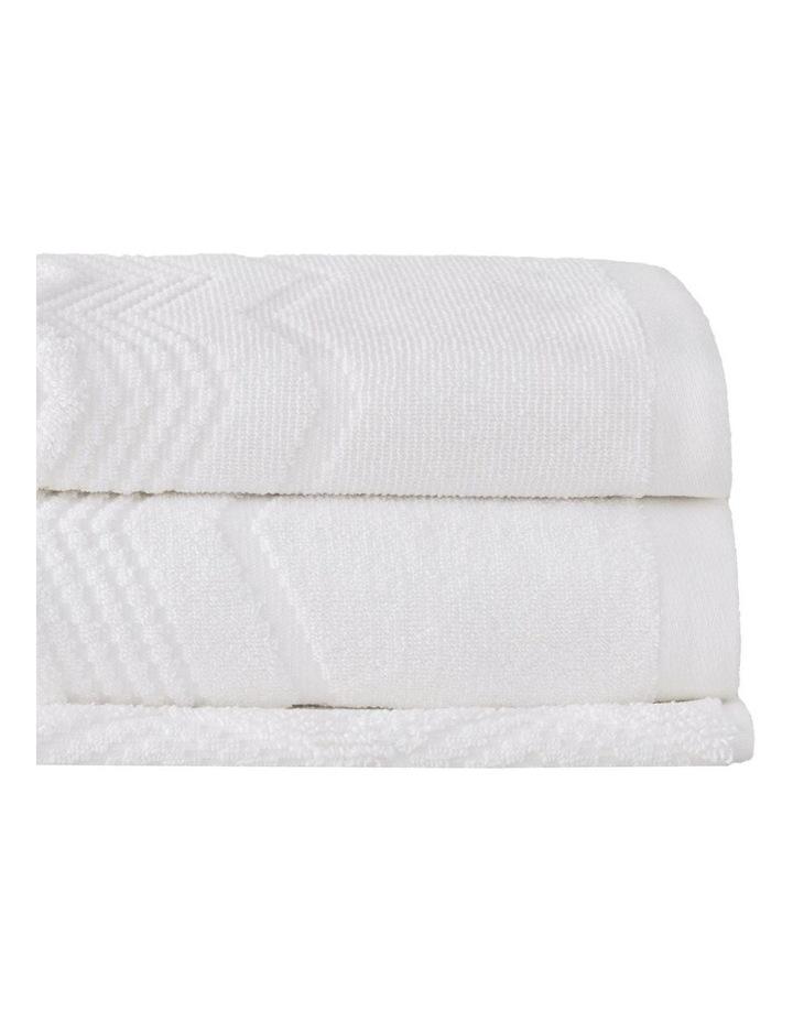Ashford Towel Range in White image 1
