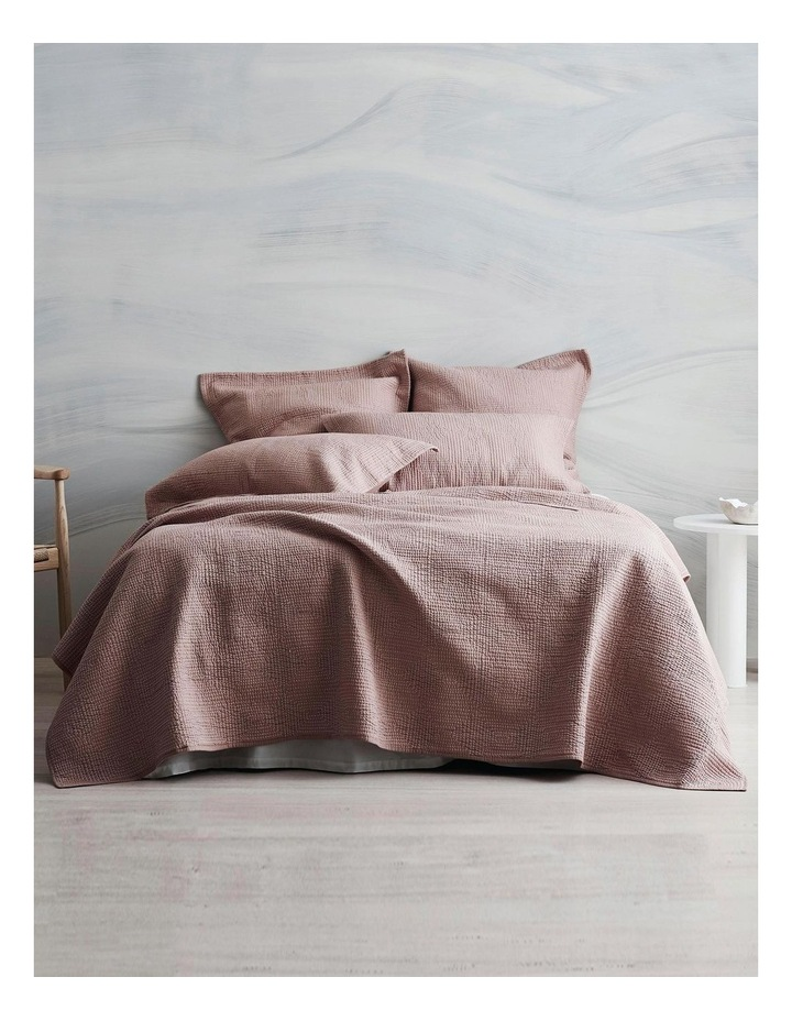 Beechwood Bed Cover in Smokey Rose image 3