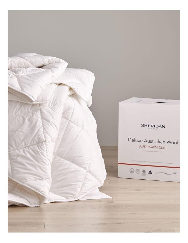 Deluxe Australian Wool Super Warm Quilt image 3