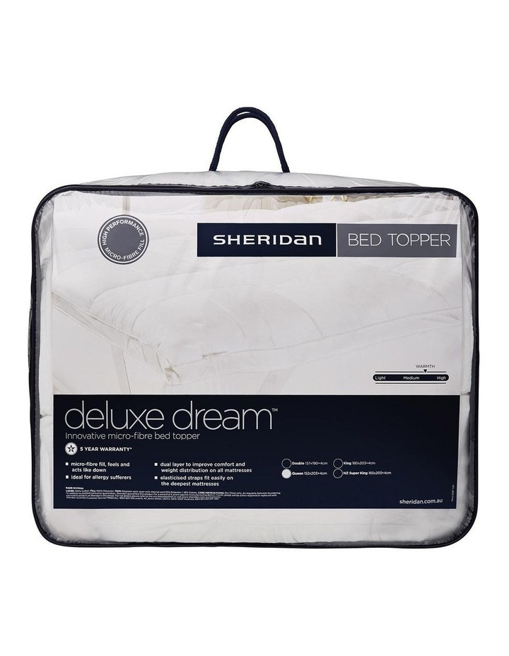 Deluxe Dream Bed Topper image 1