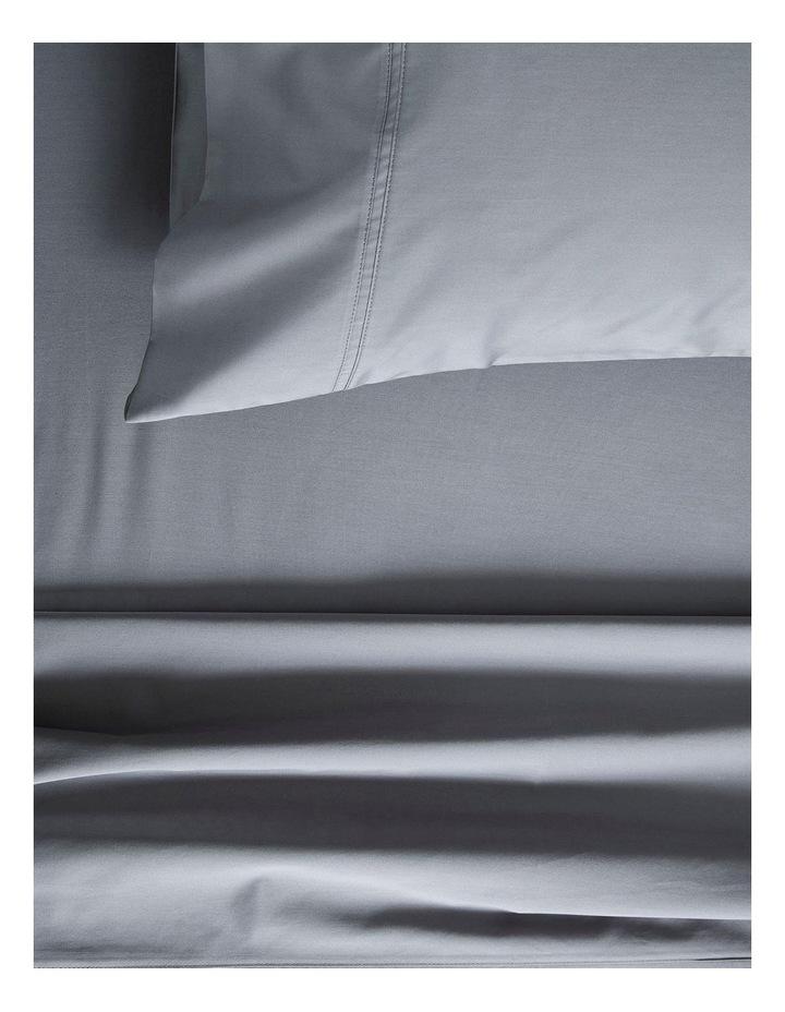 Egyptian Blend Sateen 600TC Sheet Set in Powder Grey image 1