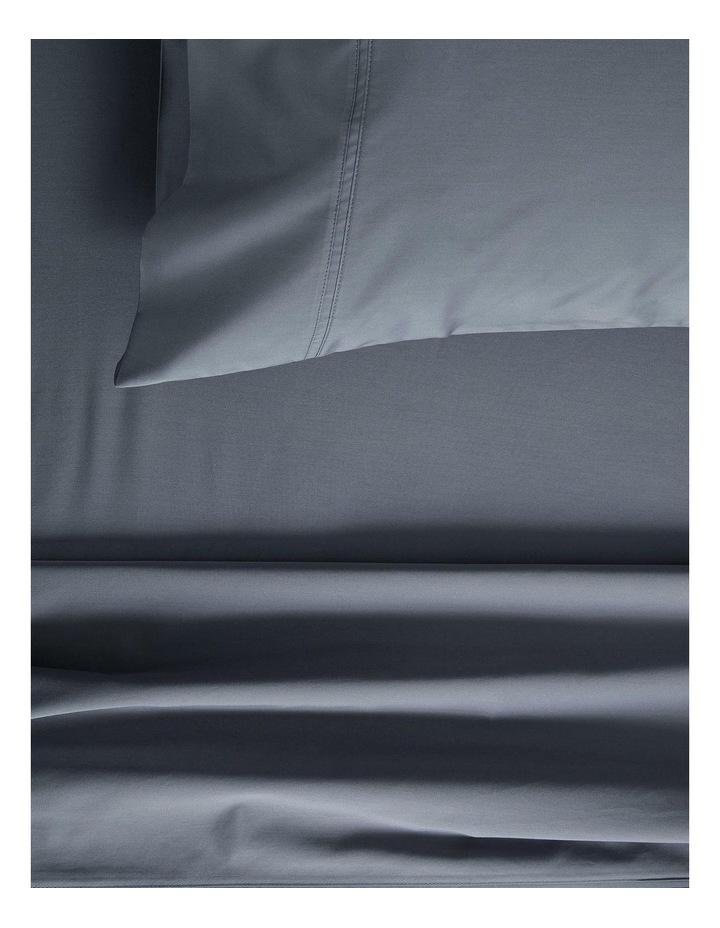Egyptian Blend Sateen 600TC Sheet Set in Smokey Blue image 1
