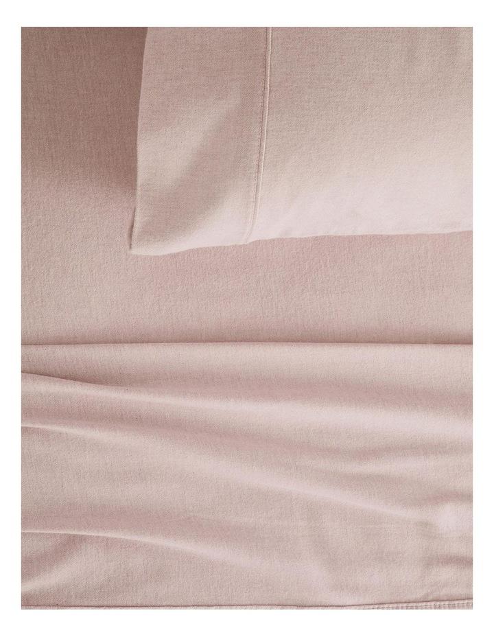 Grenville Flannelette Sheet Set in Rosewater image 1