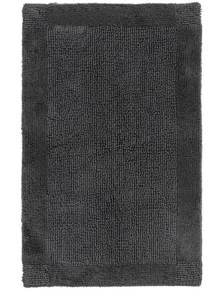 Larken Bath Mat in Grey image 1