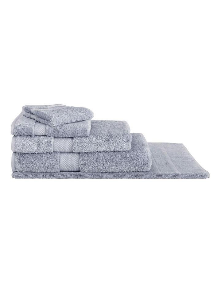 Luxury Egyptian Towel Range in Dusty Blue image 1