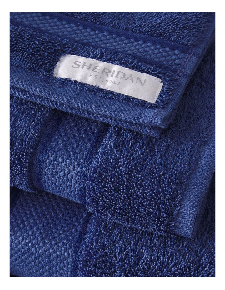 Luxury Egyptian Towel Range in Electric Blue image 3
