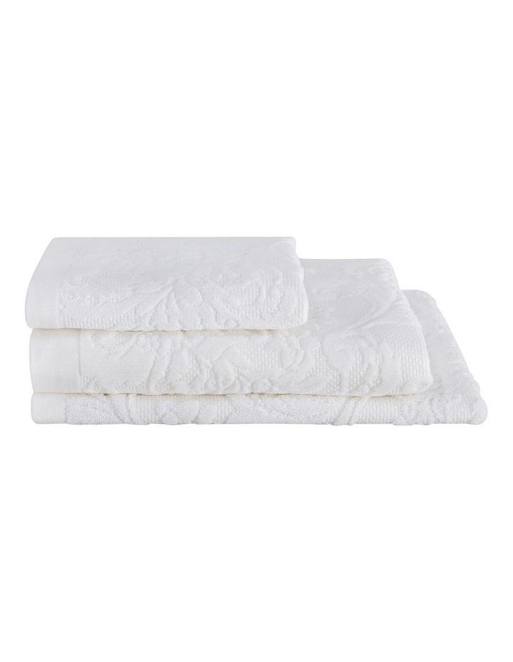 Mandeville Towel Range in White image 1
