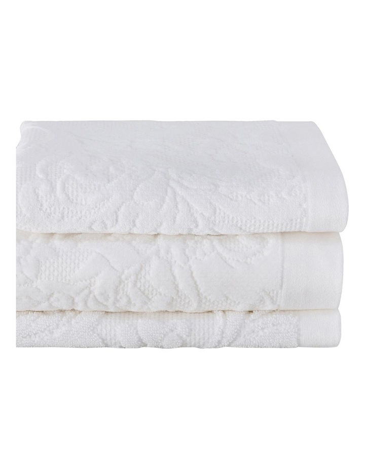 Mandeville Towel Range in White image 2