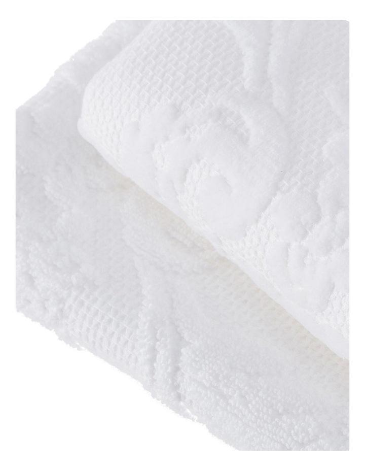 Mandeville Towel Range in White image 3