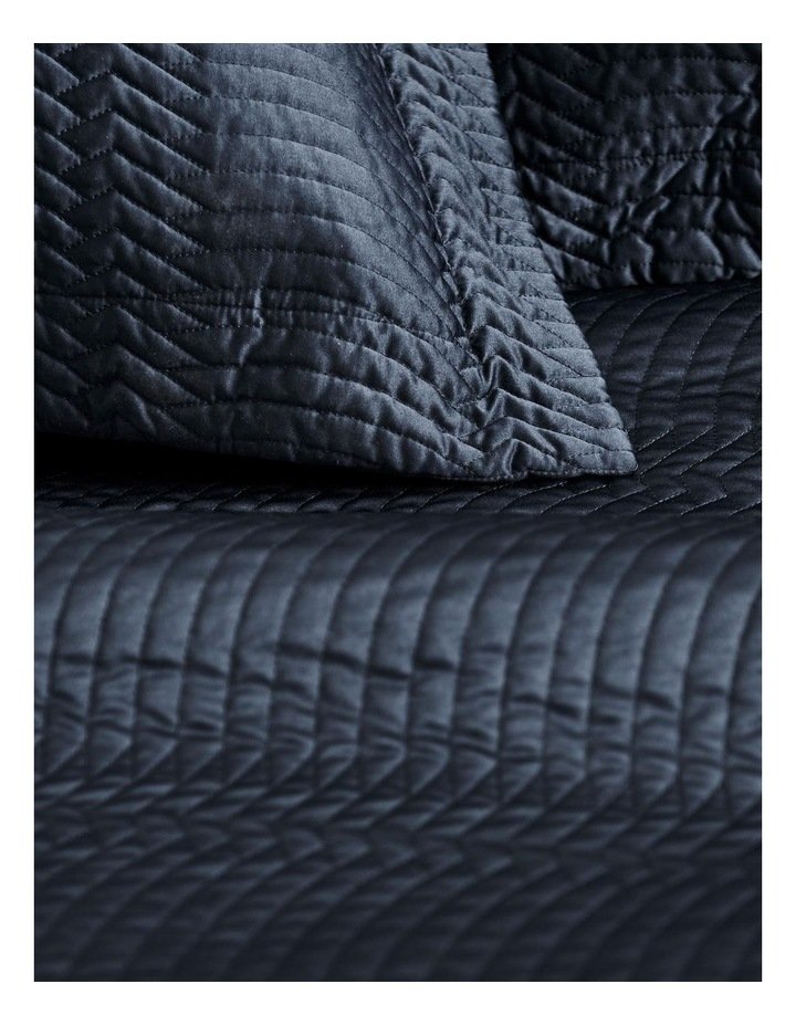 Mayberry Bedcover in Midnight image 2