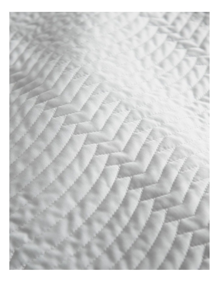 Mayberry Sham in White image 3