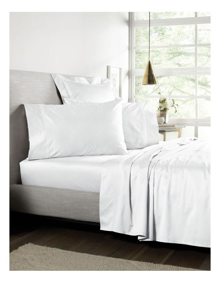 Palais Flat Sheet in White image 1
