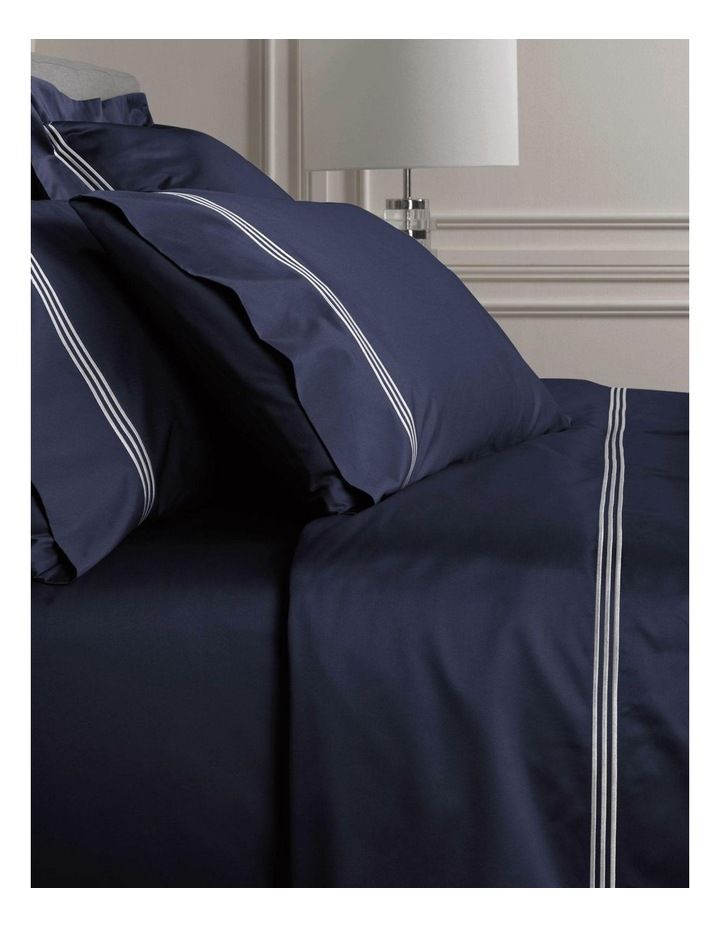 Palais Lux Fitted Sheet in Midnight image 2