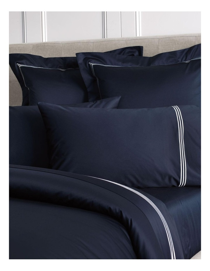 Palais Lux Fitted Sheet in Midnight image 3