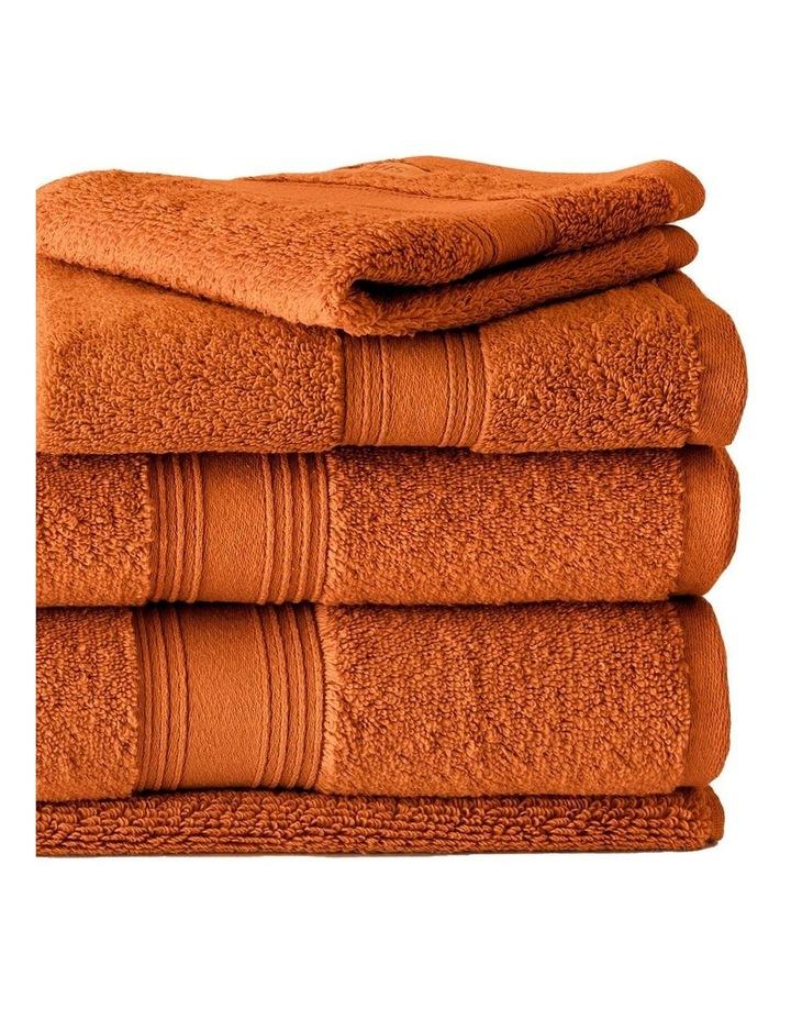 Quick Dry Luxury Towel Range in Orange image 2