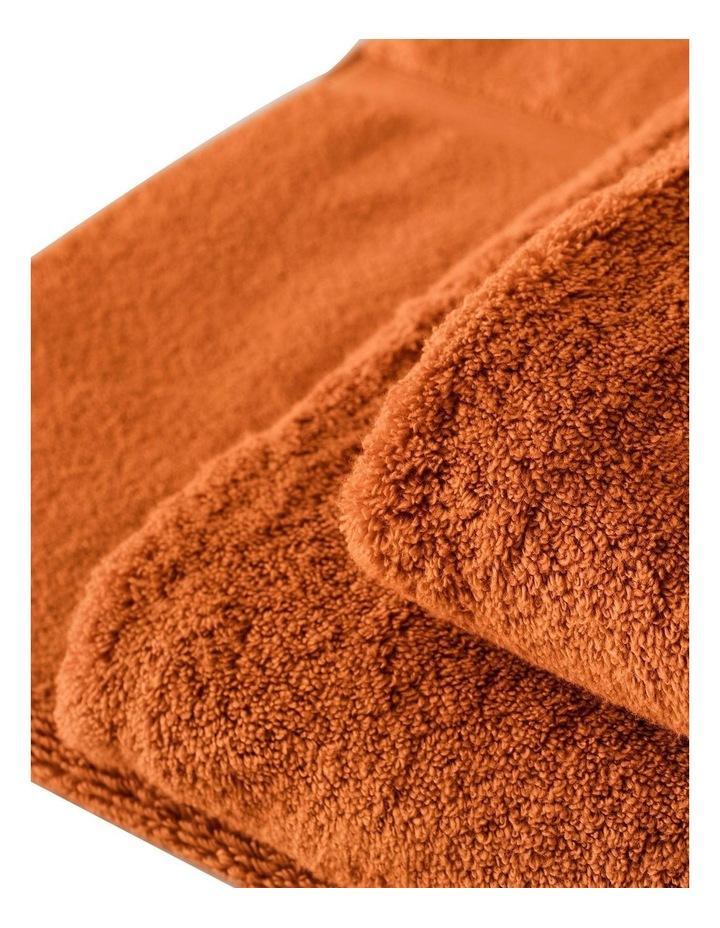 Quick Dry Luxury Towel Range in Orange image 3