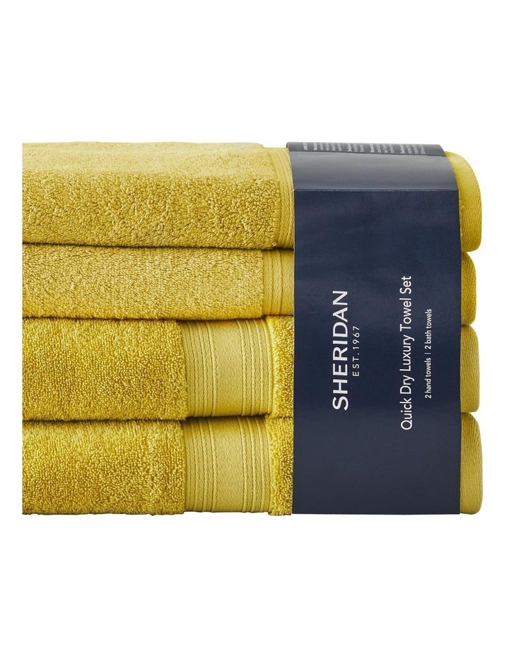 Quick Dry Luxury Gift Set in Chartreuse image 1