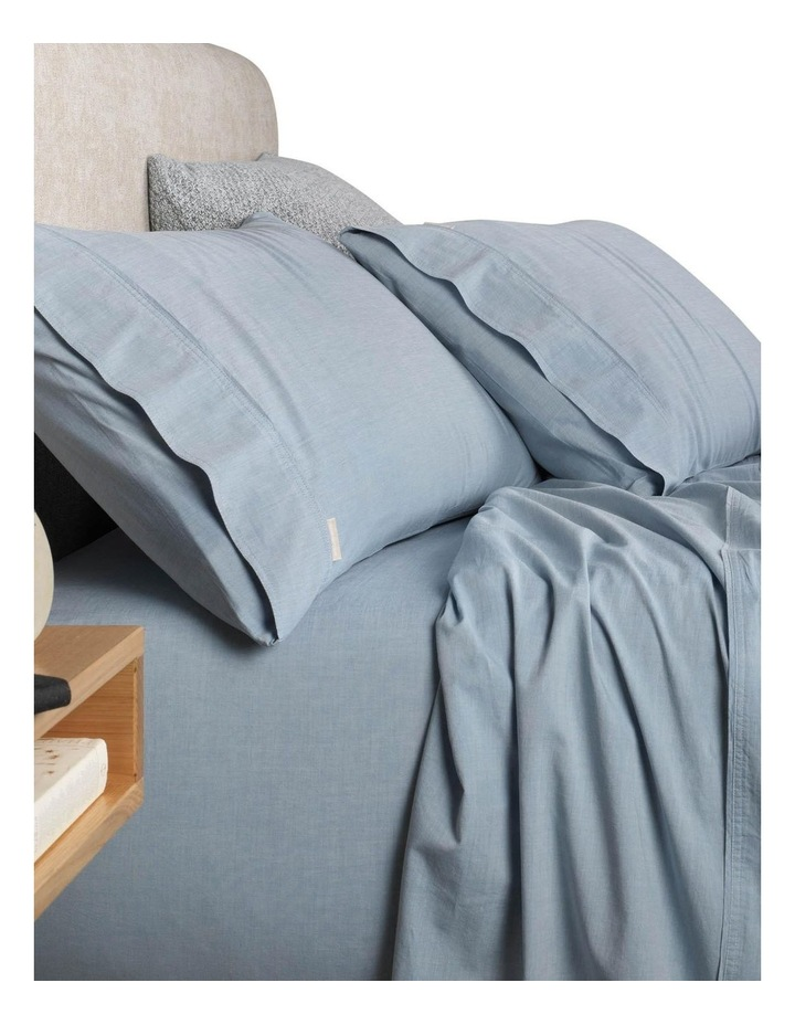 Reilly Sheet Set in Chambray image 1