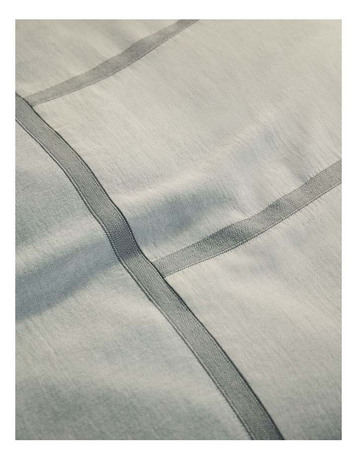 Selvedge Quilt Cover Set in Jade image 2