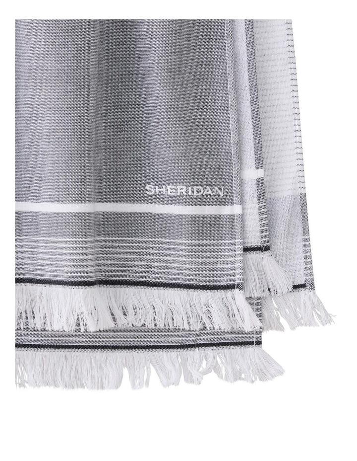 Summerville Beach Towel in Carbon image 2