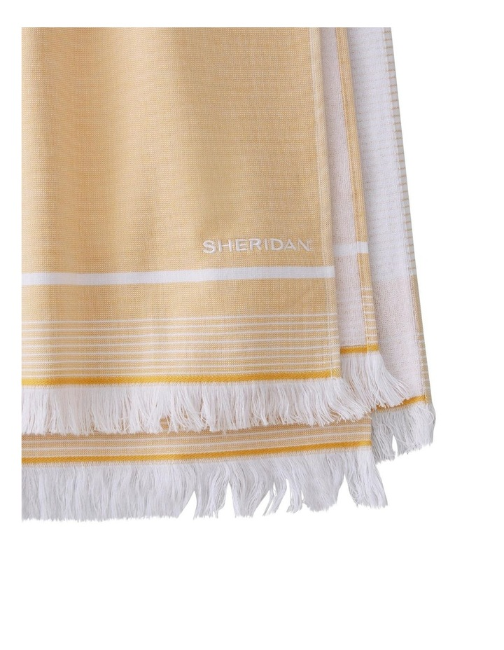 Summerville Beach Towel in Gold image 2