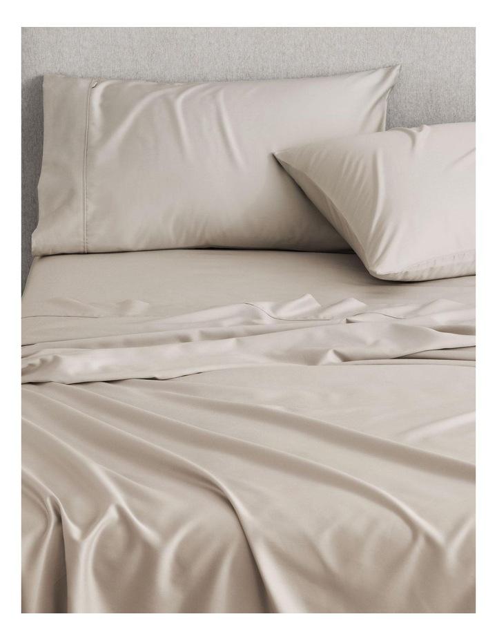 Tencel Lyocell Fibre & Cotton Sheet Set in Bone image 1