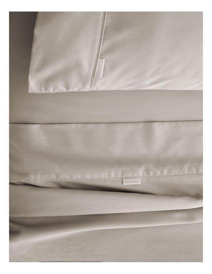 Tencel Lyocell Fibre & Cotton Sheet Set in Bone image 2