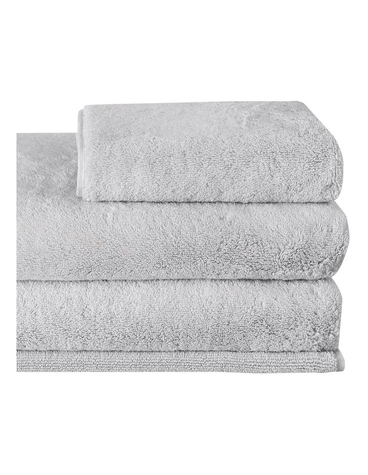 Ultimate Indulgence Towel Range in Silver Grey image 2