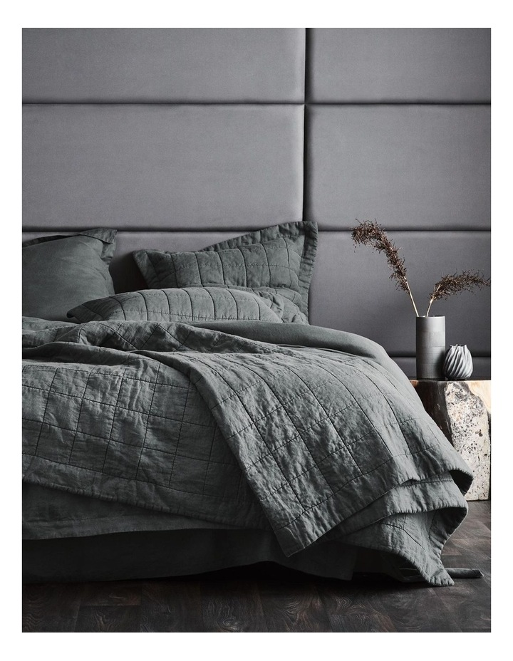 Abbotson Bed Cover in Smoke image 1