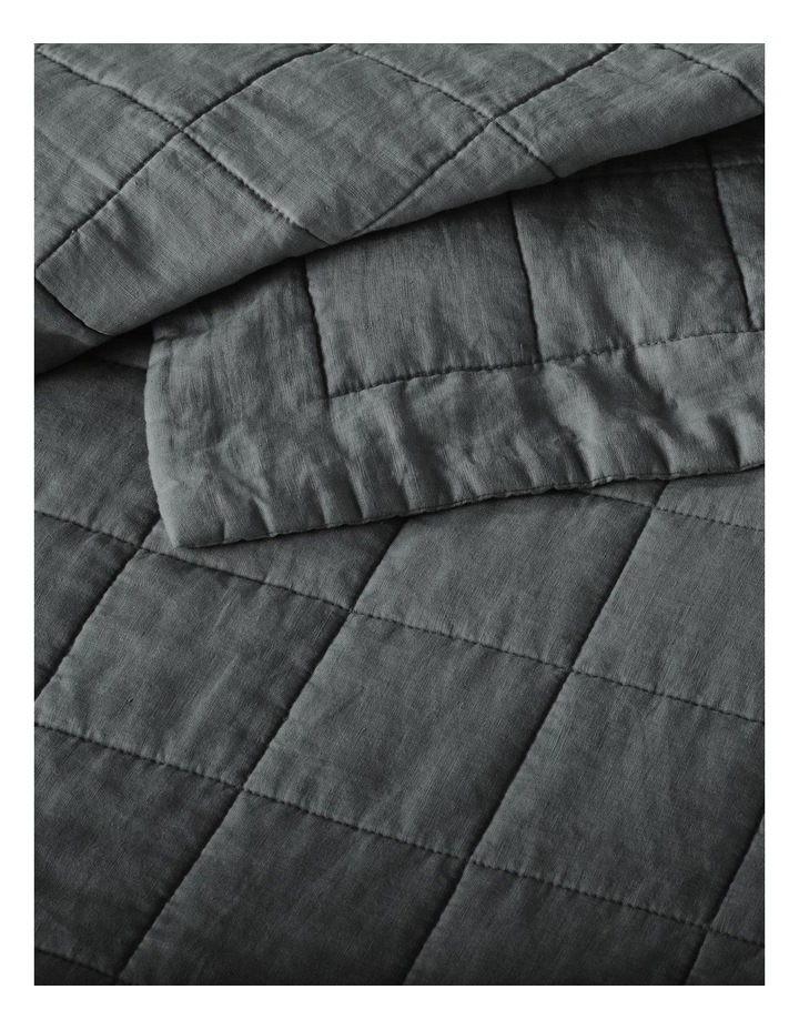 Abbotson Bed Cover in Smoke image 2