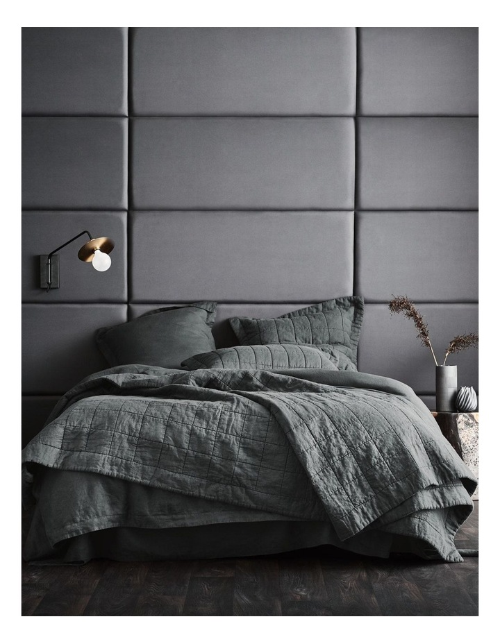 Abbotson Bed Cover in Smoke image 3