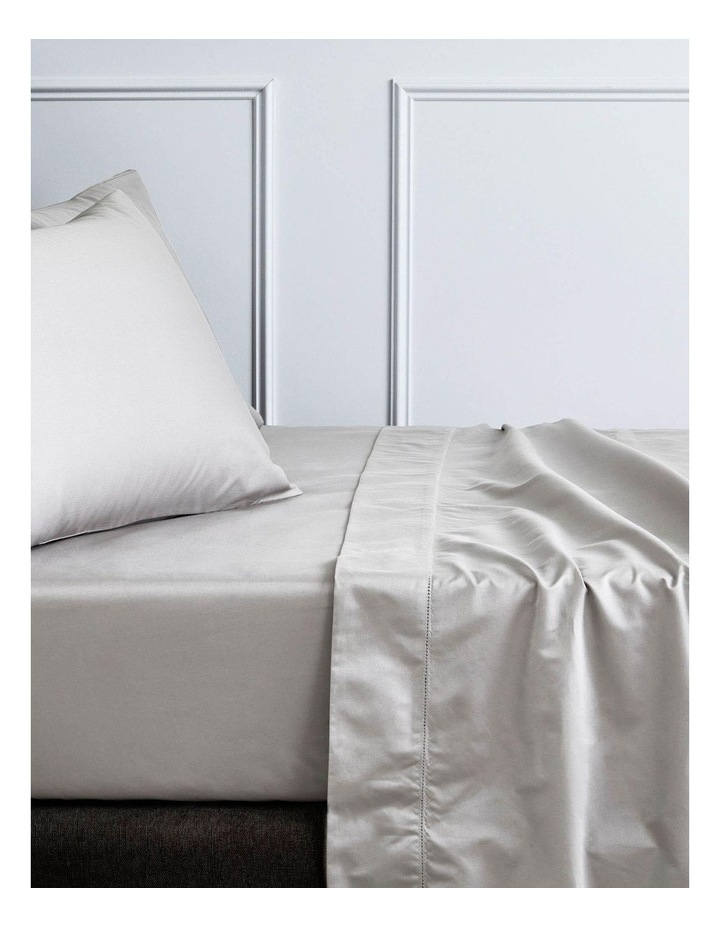 Hotel-Weight Luxury 1000TC Sheet Set in Stone Grey image 1