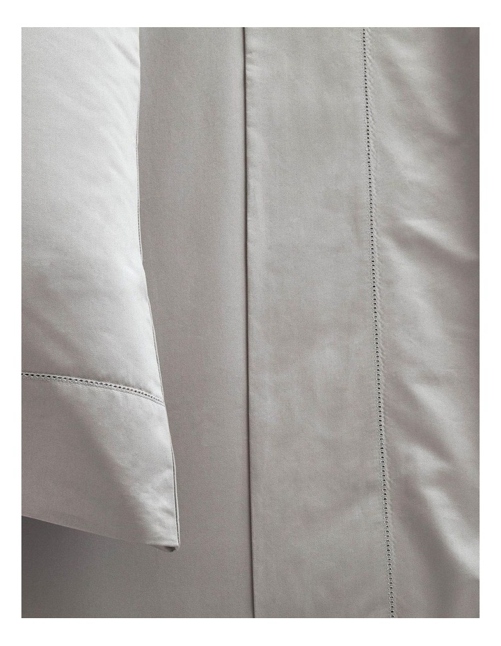 Hotel-Weight Luxury 1000TC Sheet Set in Stone Grey image 2
