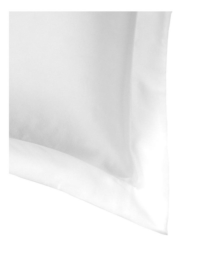Lanham Silk Standard Pillowcase in Snow image 2