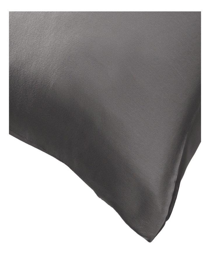 Lanham Silk Standard Pillowcase in Flint image 2